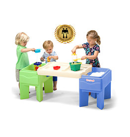 Simplay In and Out Activity Table