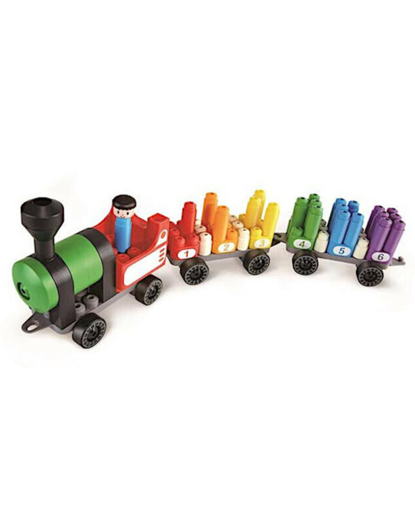 Hape Rainbow Counting Train