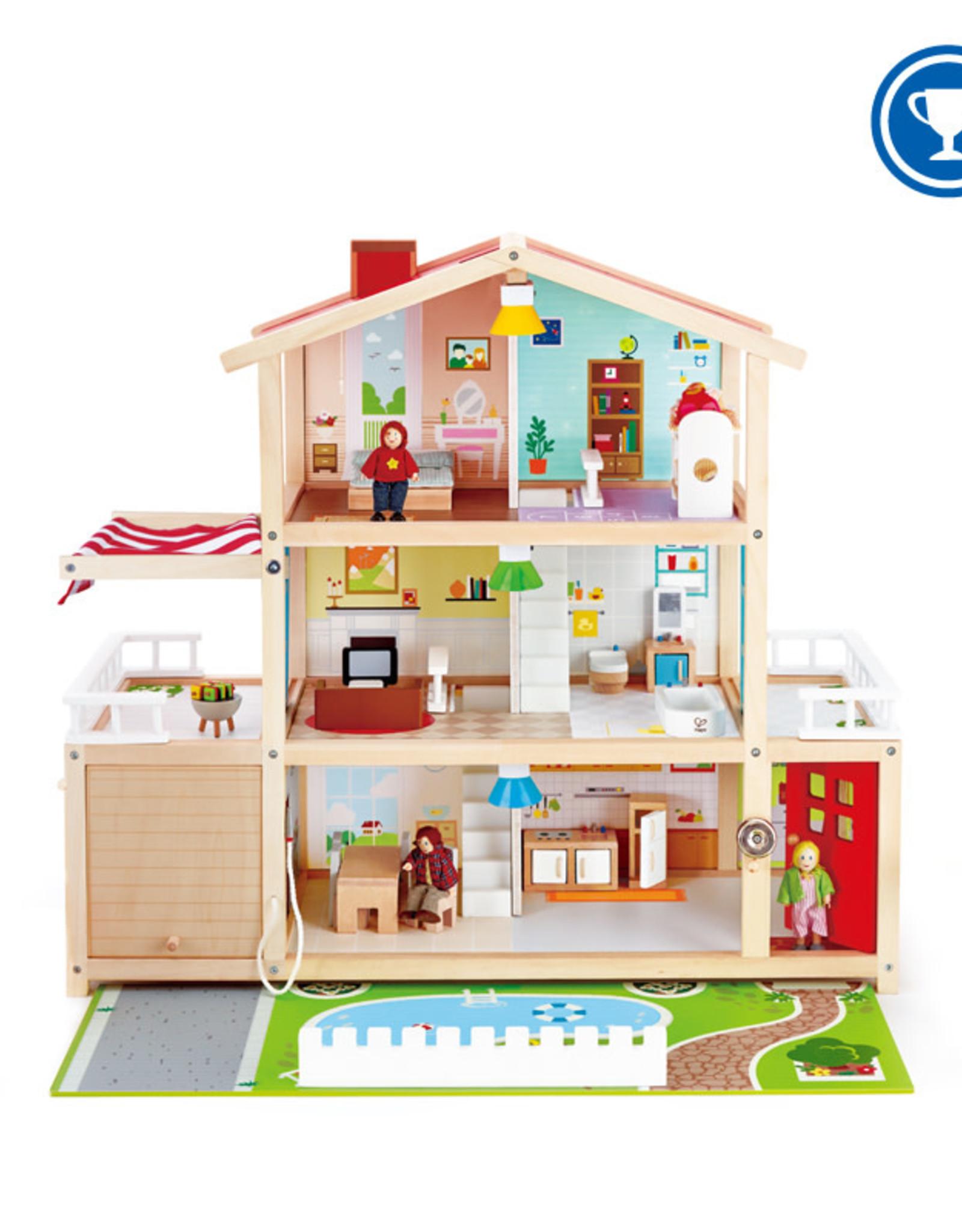 Hape Doll Family Mansion DS
