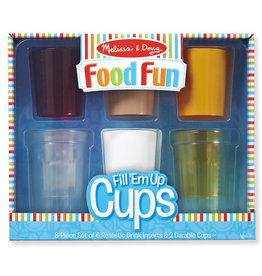 Melissa & Doug Food Fun Fill 'Em Up Cups