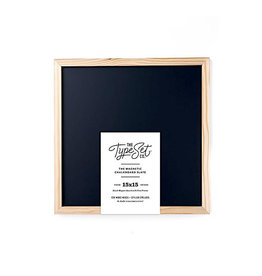 Type Set Magnetic Slate Letter Board