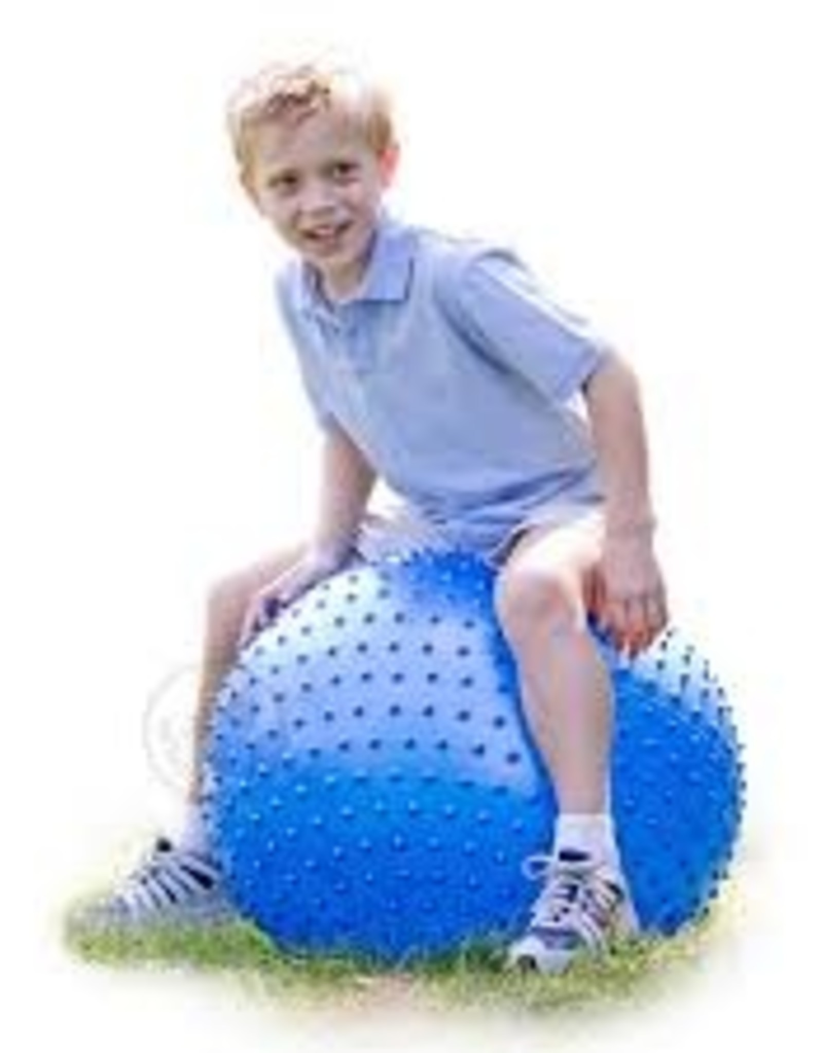 """Tactile Sensory Ball 28"""" Blue"""