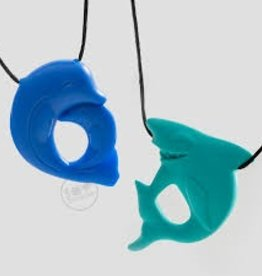 Shark and Dolphin Chewy Necklace