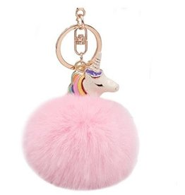 3C4G Fur Ball Bag Charms