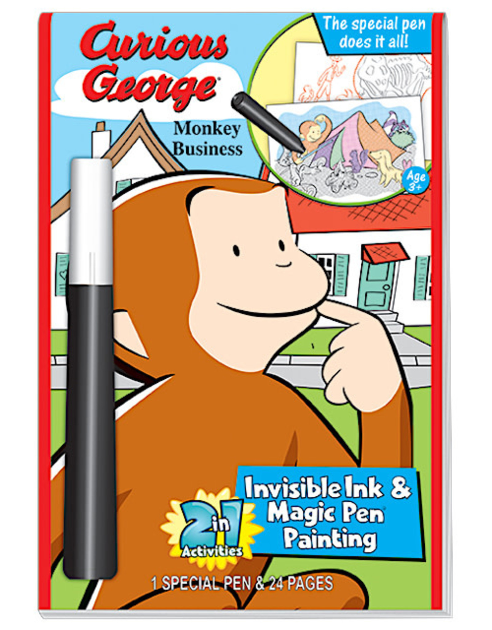 Curious George Sticker Puzzle