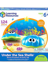 Learning Resources Under the Sea Shells Word Problem Activity Set