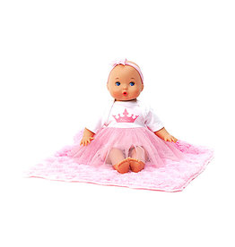 Madame Alexander Sweet Baby Nursery Little Love Princess & Blanket 12