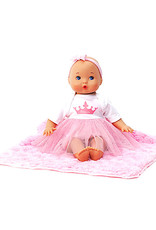 Madame Alexander Sweet Baby Nursery Little Love Princess & Blanket 12