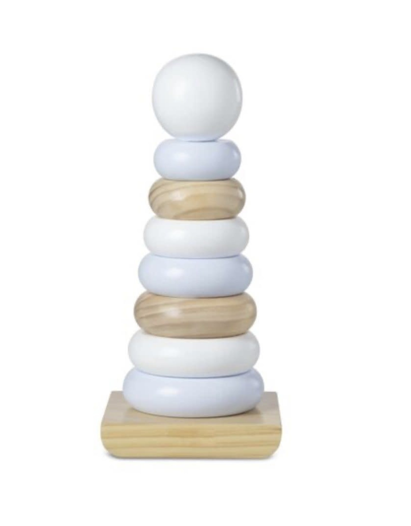 Melissa & Doug Wooden Jumbo Stacker - Natural