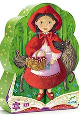 Djeco Silhouette Puzzles - Little Red Riding Hood - 36pcs