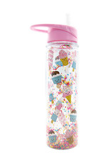 Iscream Flip-Top Water Bottle