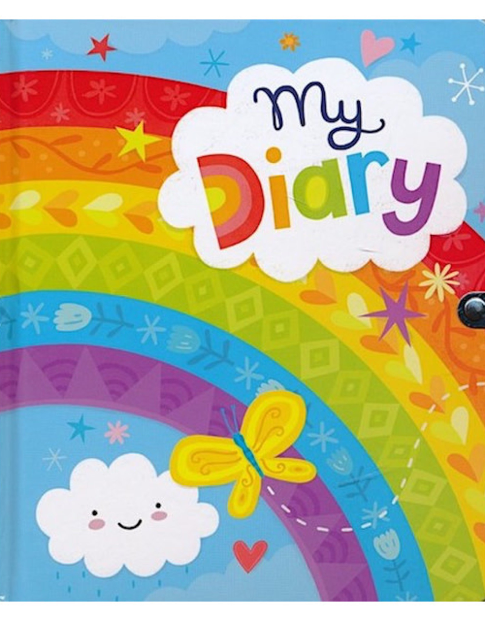 RAINBOW LOCK AND KEY DIARY