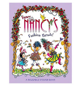 Harper Collins Fancy Nancy's Fashion Parade! Reusable Sticker Book - O'Connor, Jane