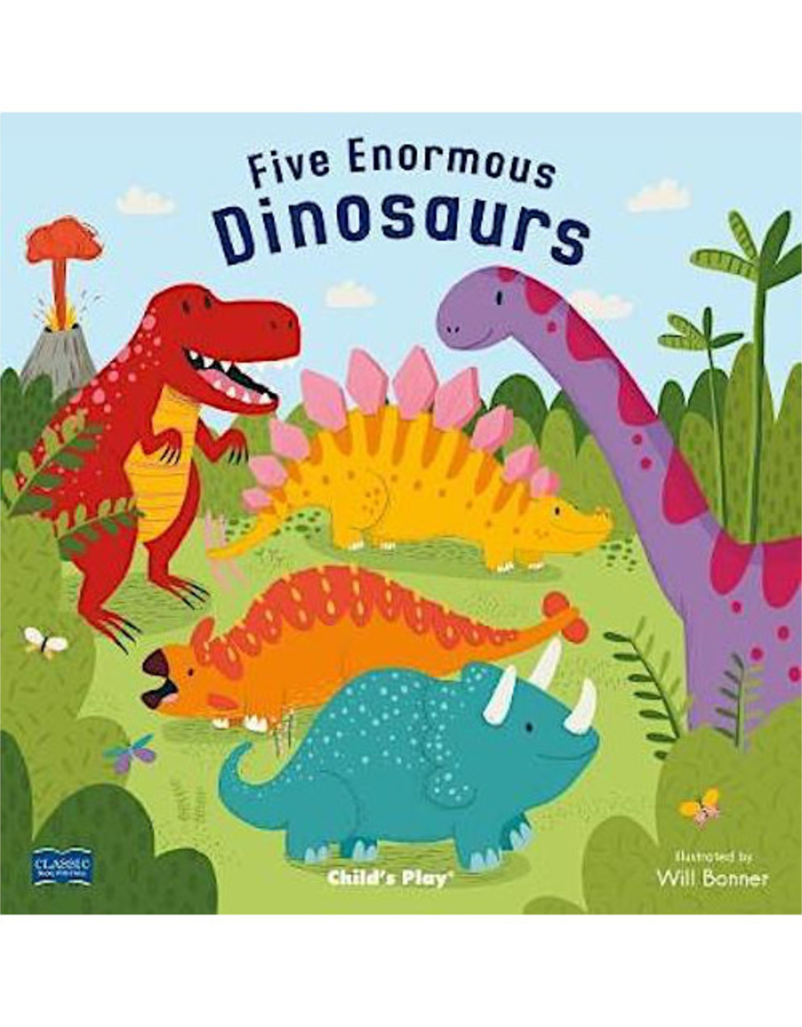 child's play Five Enormous Dinosaurs