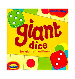 child's play Giant Dice -New Edition