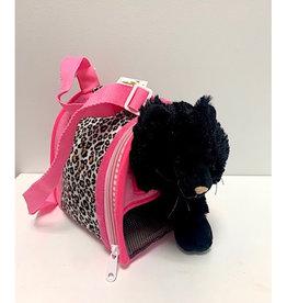 "Unipak Design 9"" Black Cat Carrier"