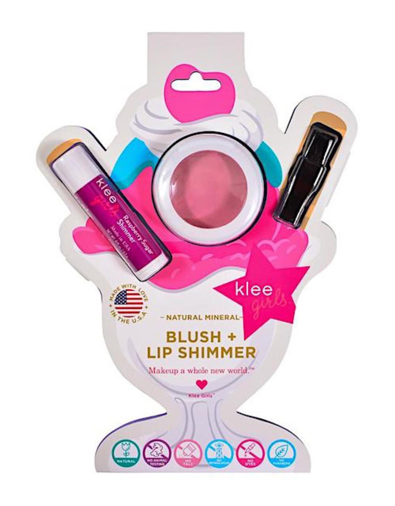 Klee Klee Blush and Lip Shimmer