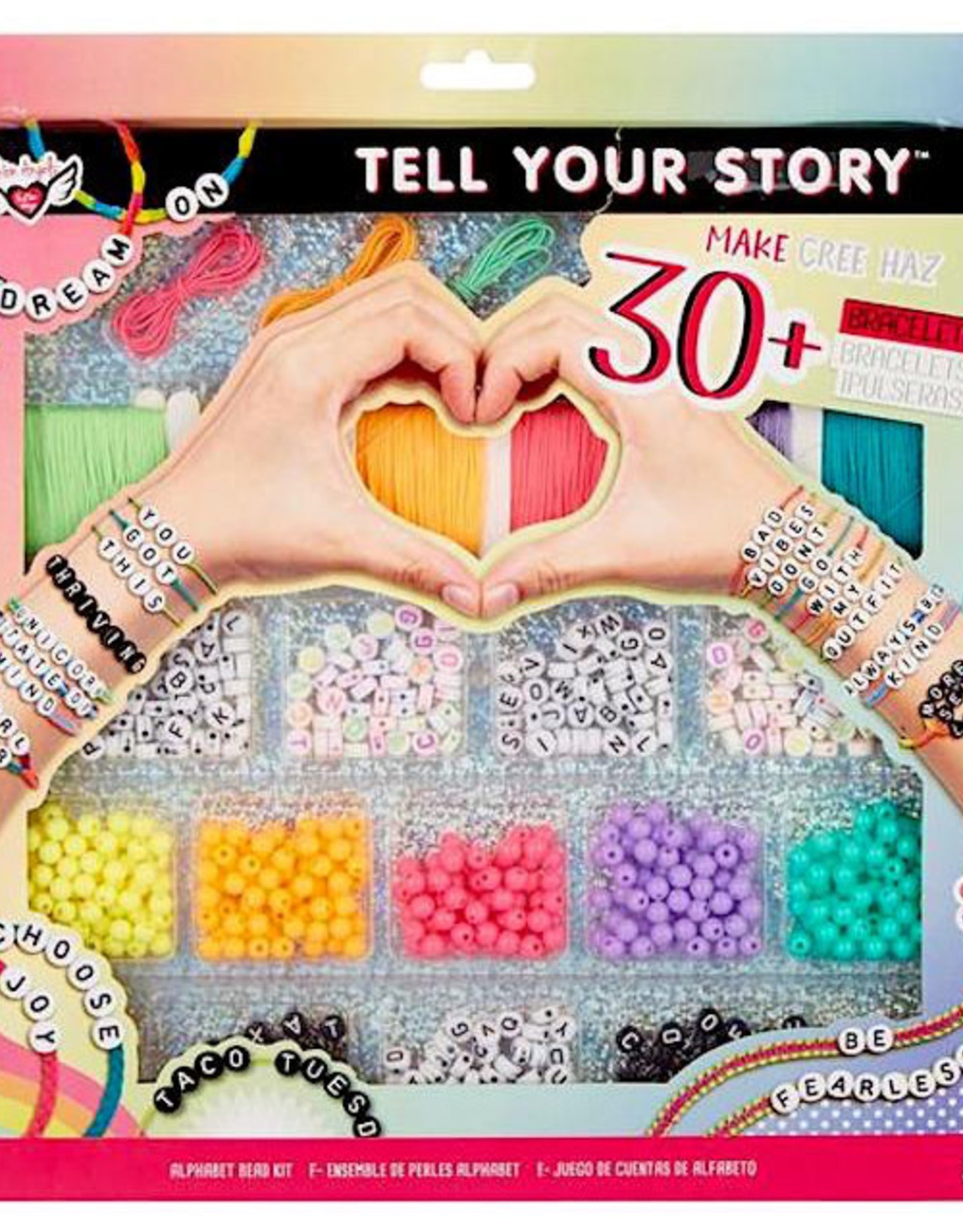 Fashion Angel Tell Your Story Alphabet Bead Case Mix/Match