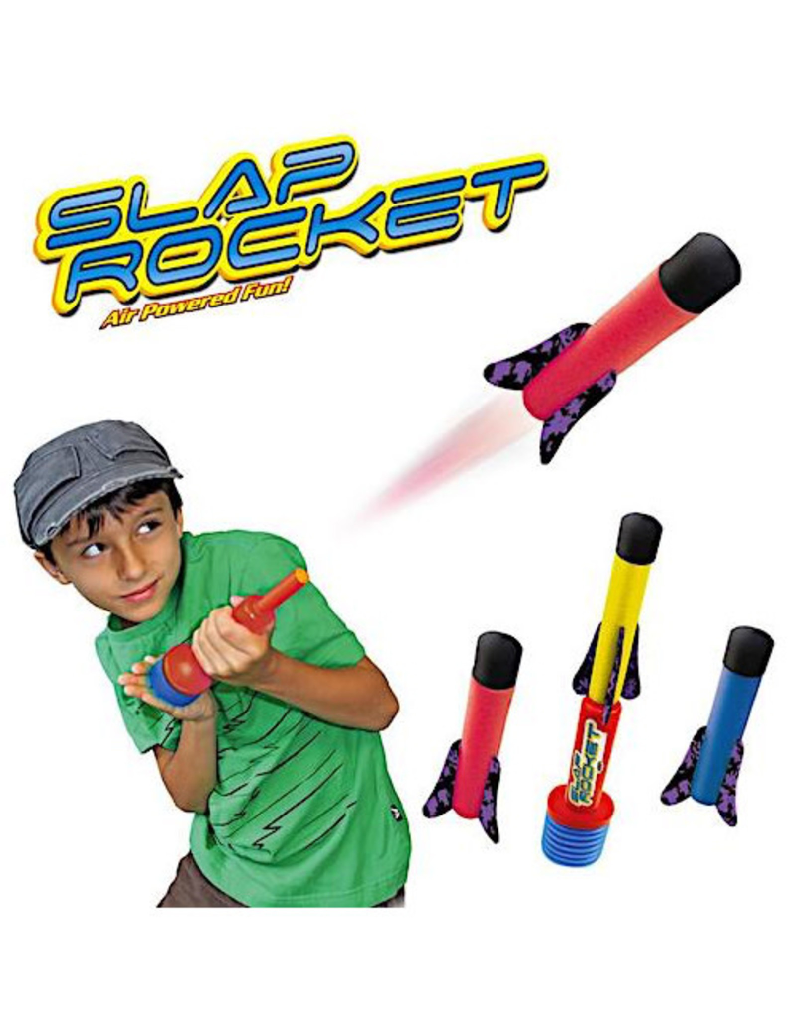 Aeromax SLAP ROCKET Set with 3 Rockets