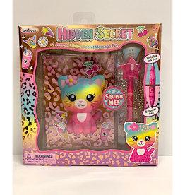 Hot Focus Hidden Secret Journal, Leopard