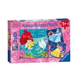 Ravensburger Princesses (3 x 49 pc Puzzles)