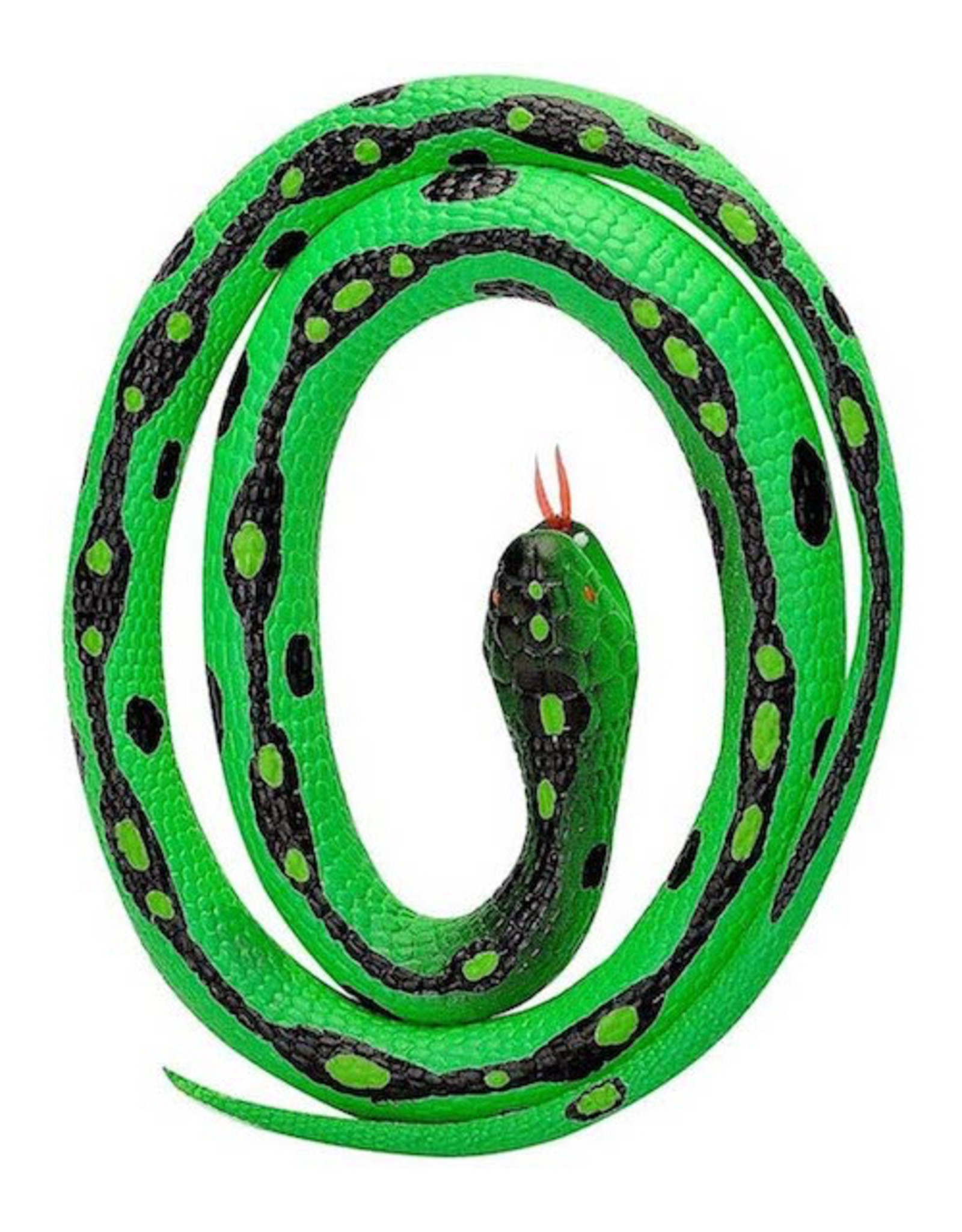 RUBBER SNAKE SMALL GREEN GARTER
