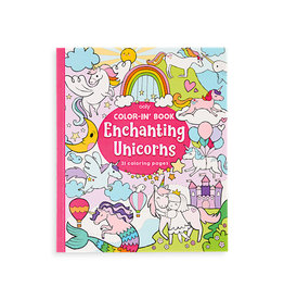 Ooly Coloring Book-Enchanted Unicorns