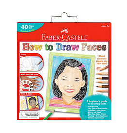 Faber Castell World Colors - How to Draw Faces