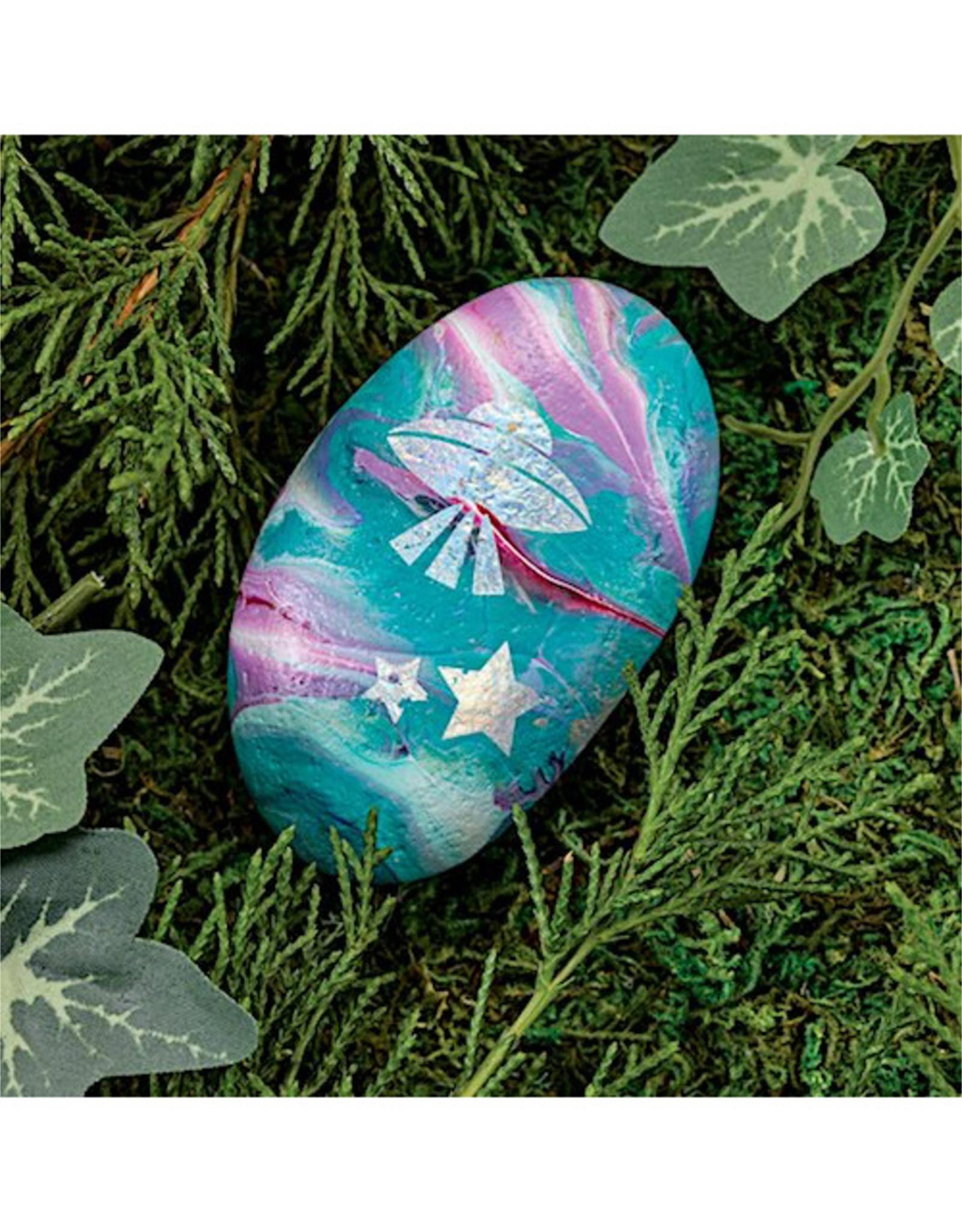 Faber Castell Hide & Seek Paint Pour Rocks