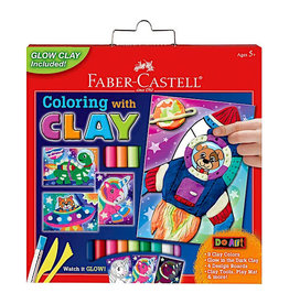 Faber Castell Do Art Coloring with Clay Space Pets