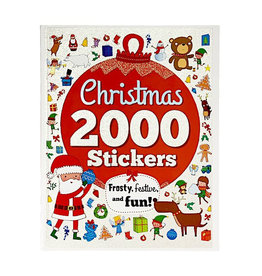 Cottage Door Press 2000 Stickers Christmas Frosty