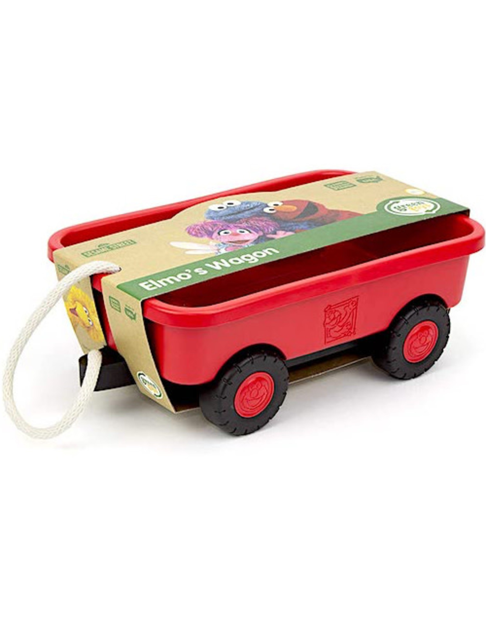 Green Toys Elmo's Wagon