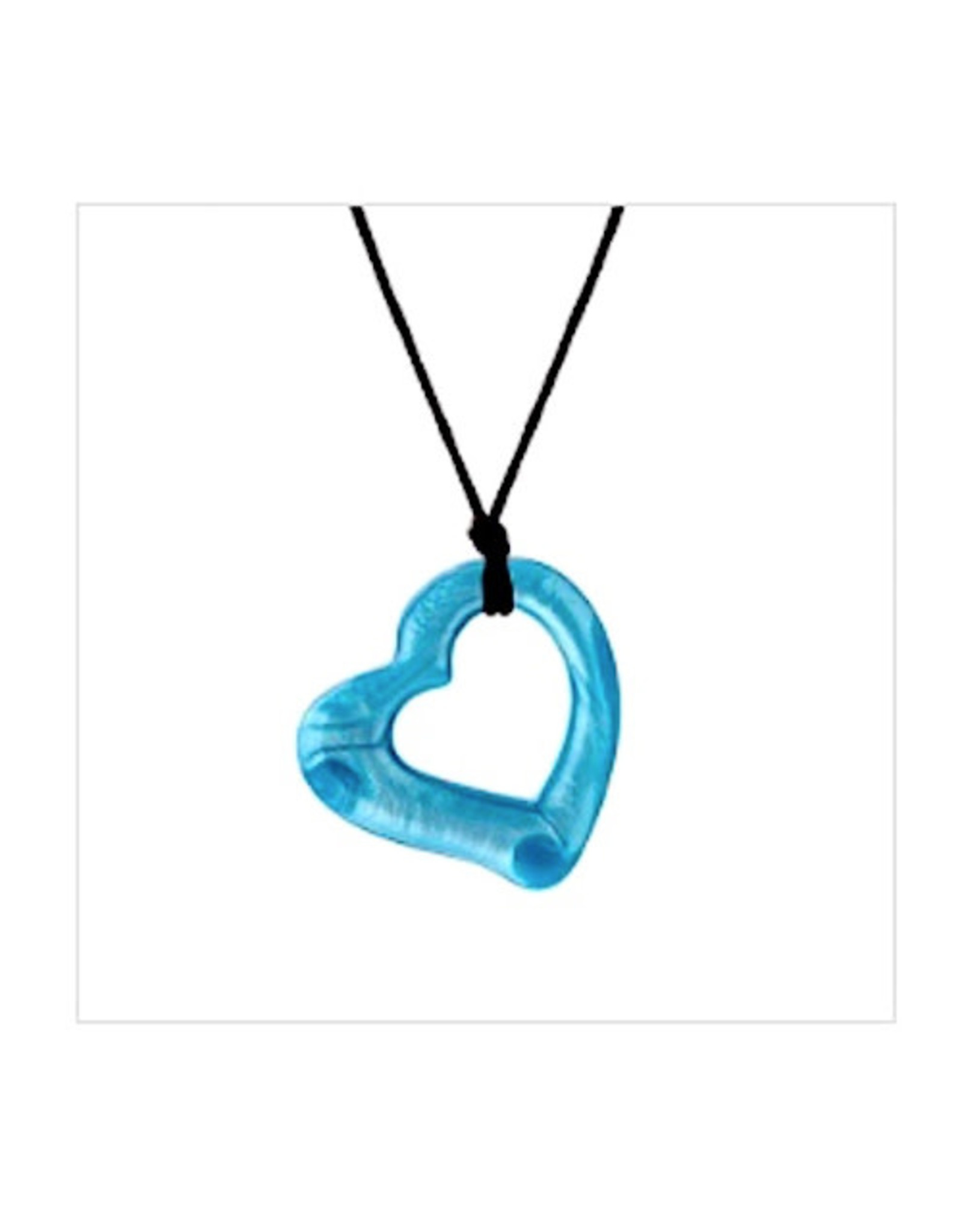 Chewigem Chewlery Heart  Necklace