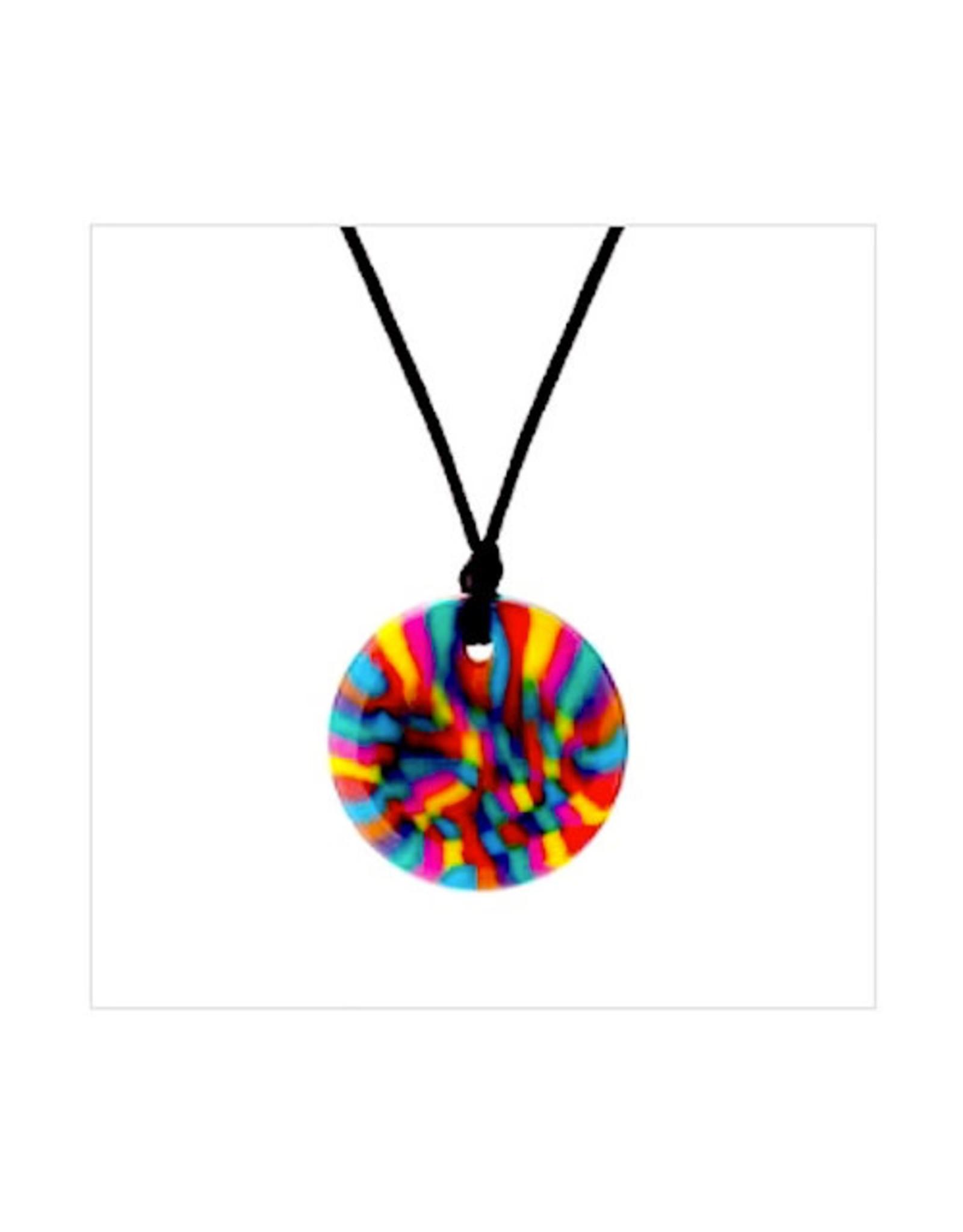 Chewigem Chewlery Disc  Necklace