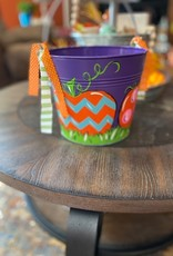 Painted Halloween Pail