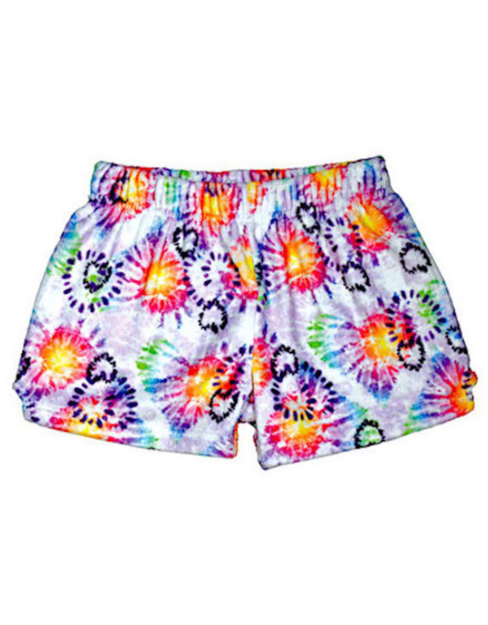 Iscream Heart Tie Dye Shorts