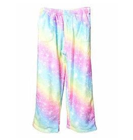 Iscream Shimmering Rainbow Plush Pants