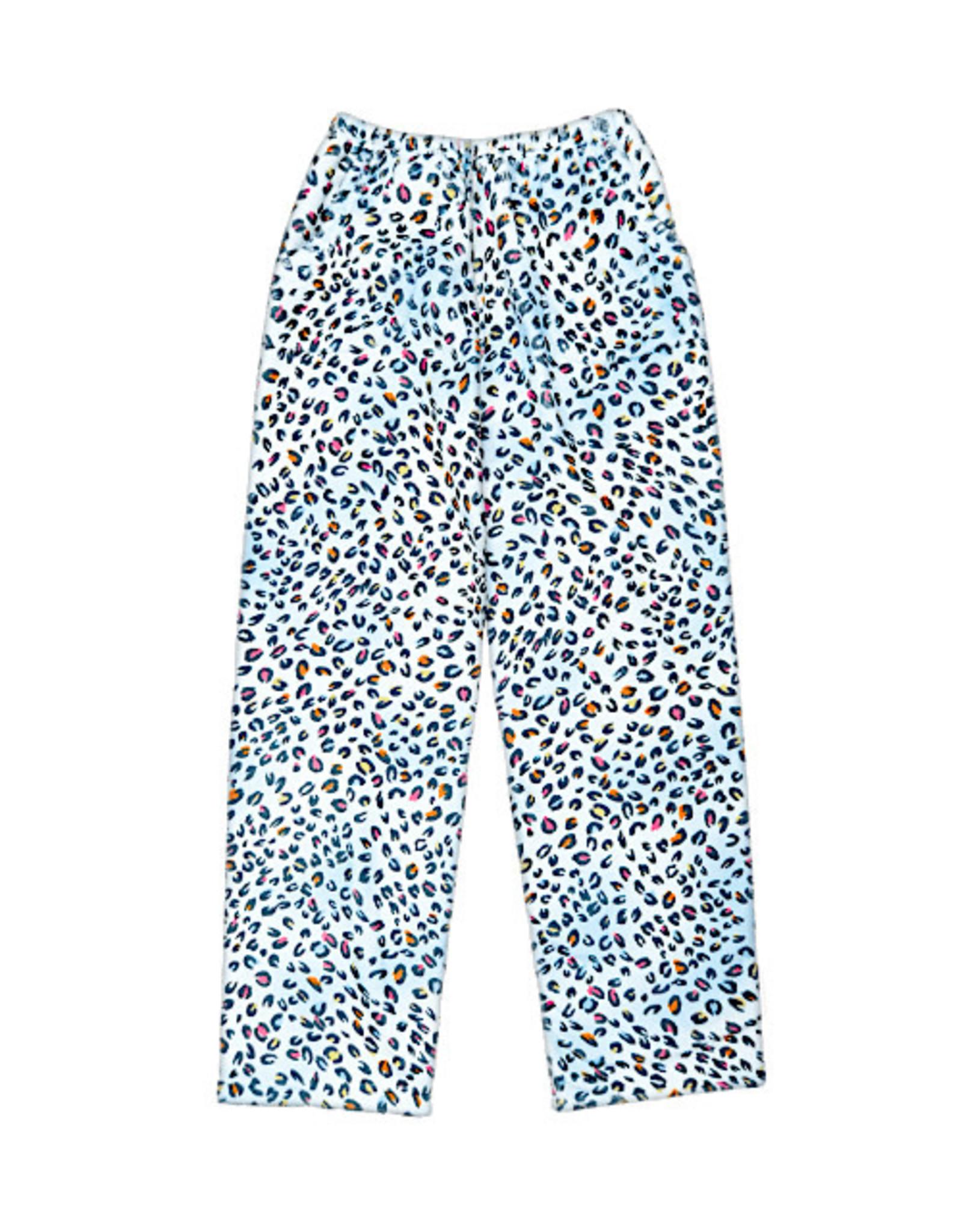 Iscream Pastel Leopard  Plush Pants