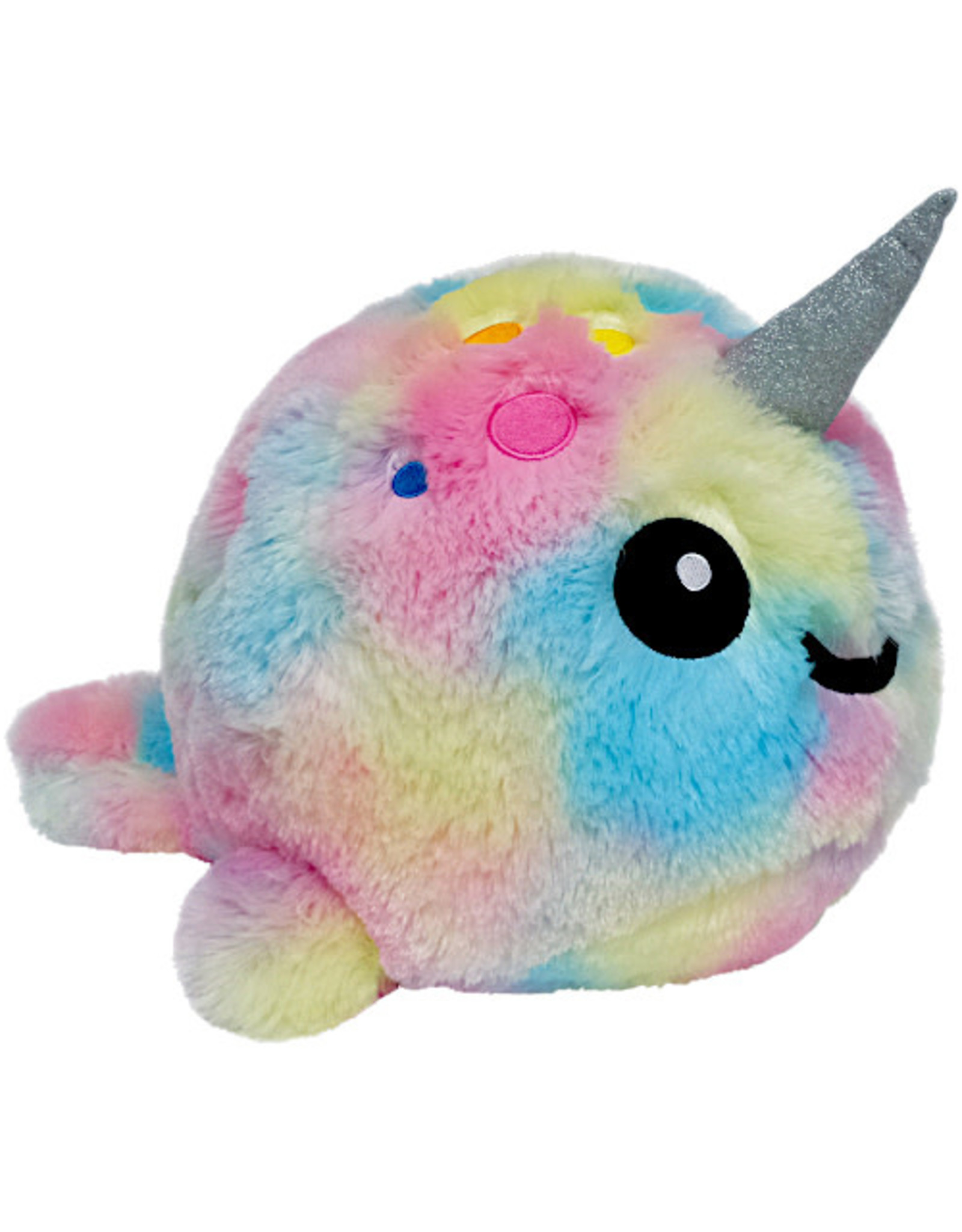Iscream Tie Dye Narwhal Scented Stuffed Animal