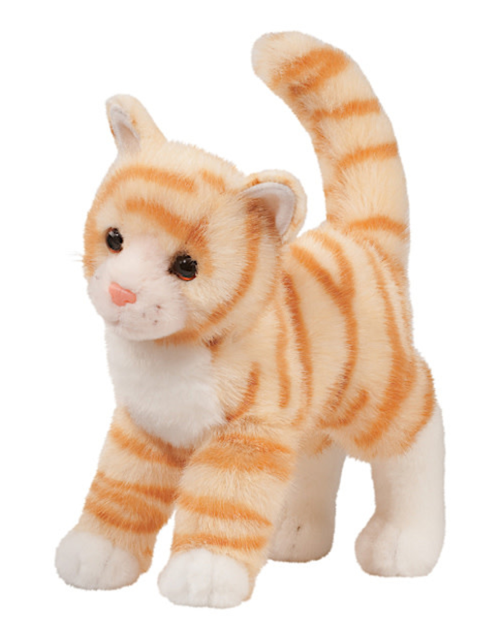 Douglas Toys Tiffy Orange Tabby