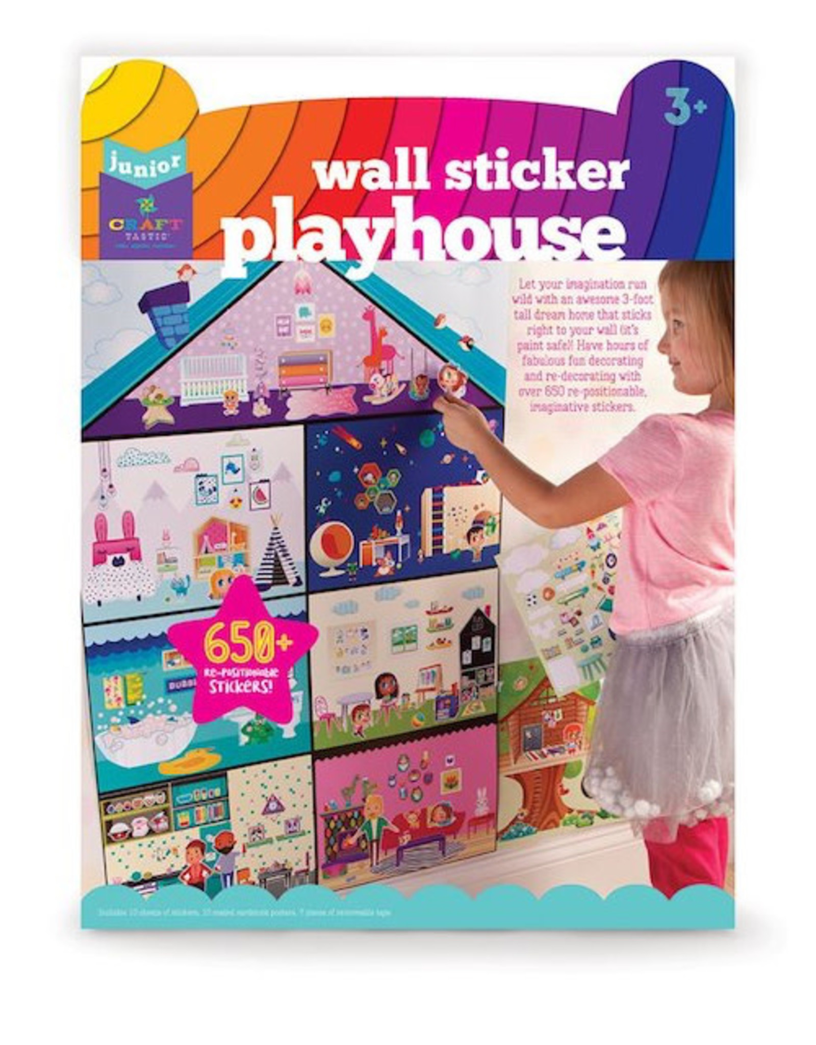 Craft-tastic Jr Wall Sticker Playhouse