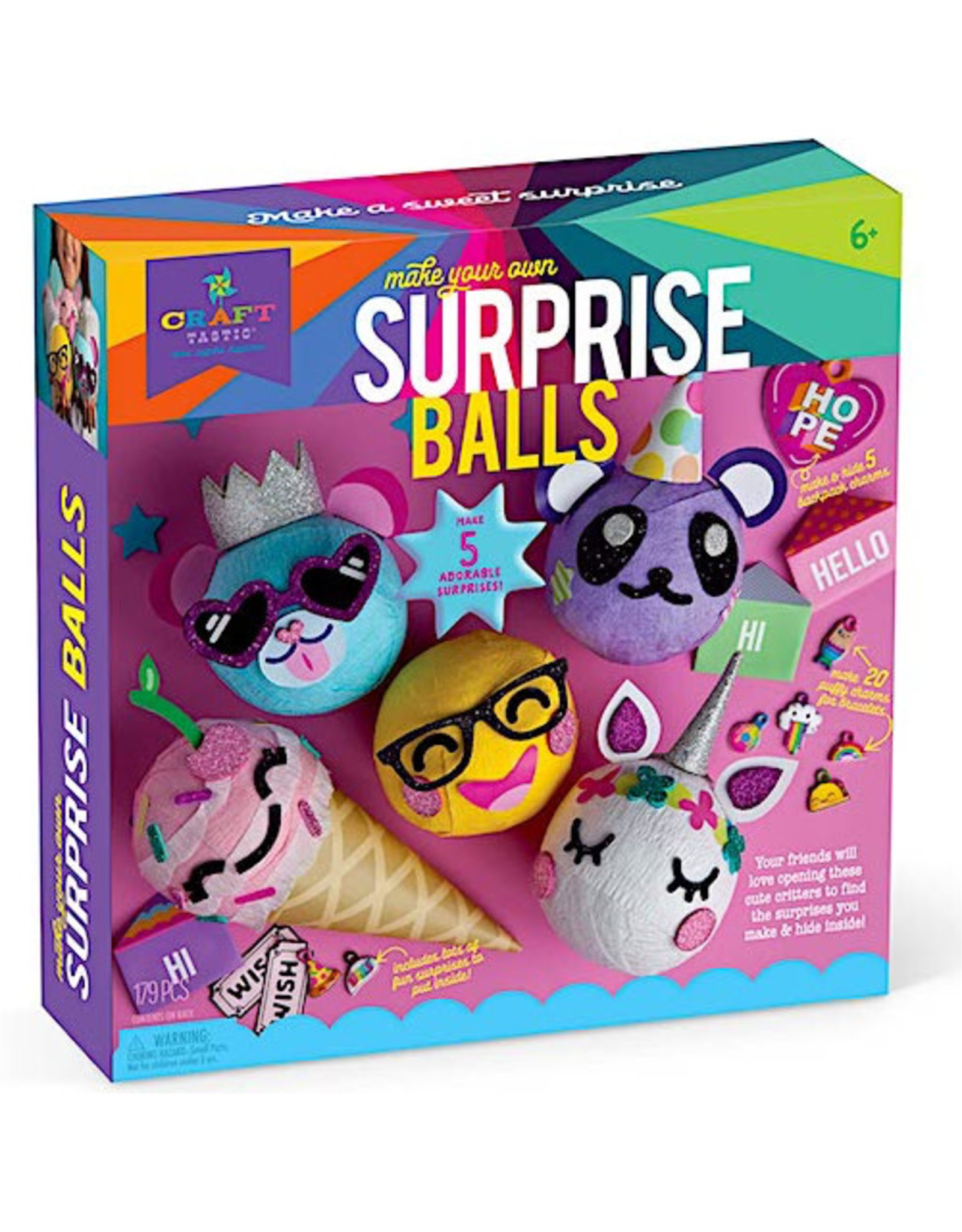 Ann Williams Craft-tastic Surprise Balls