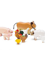 Le Toy Van Sunny Farm Animal Set