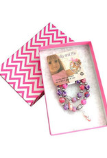 Snazzy & Co Dolly & Me 2pc Bracelet Set