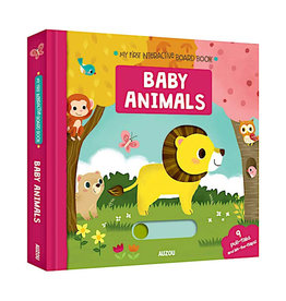 Ingram Publisher My First Interactive Board Books Baby Animals