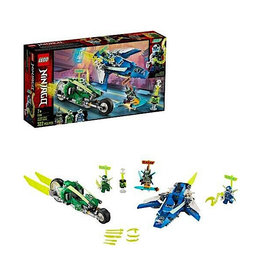 Lego Jay and Lloyd's Velocity Racer