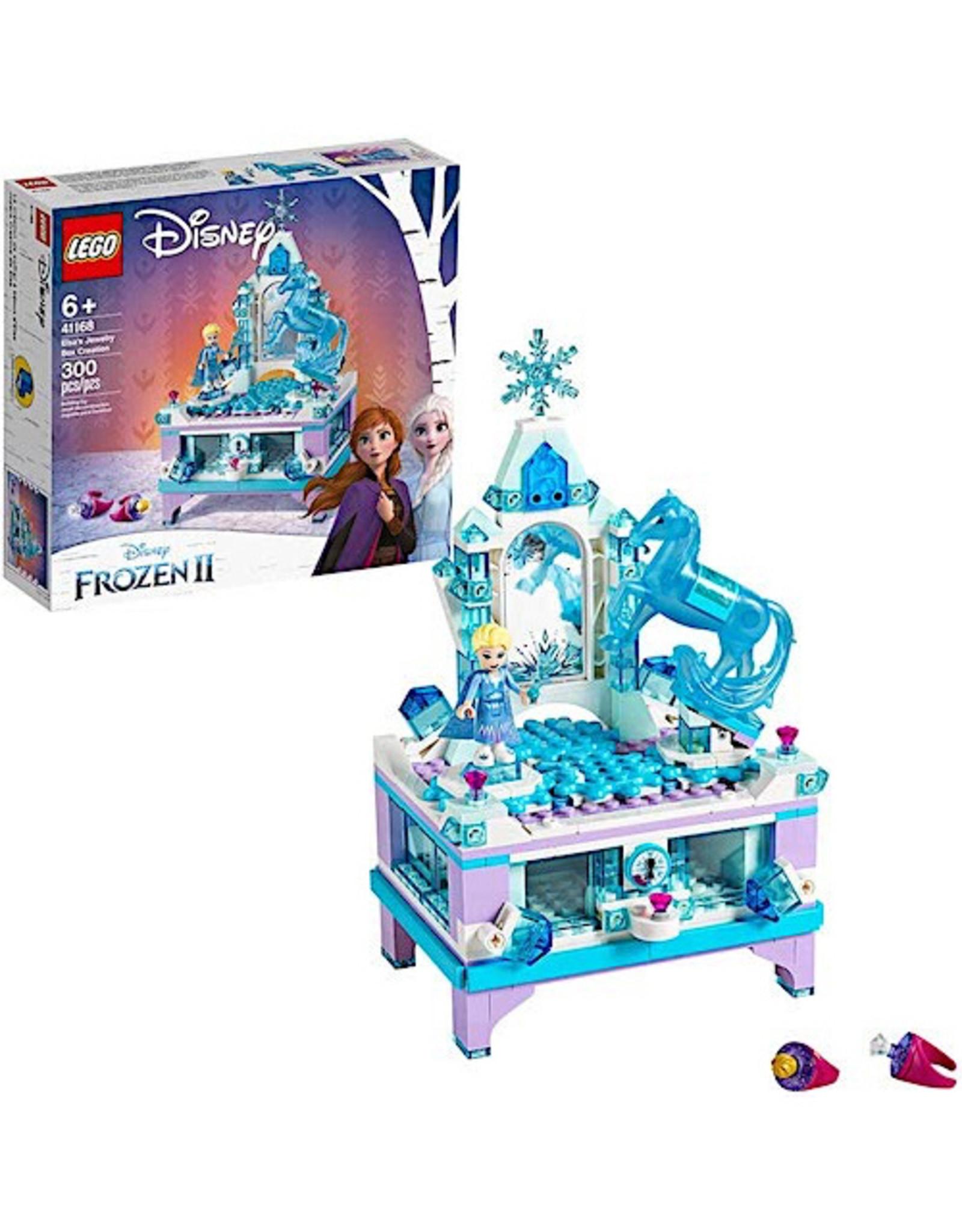 Lego Elsa's Jewlery Box Creation