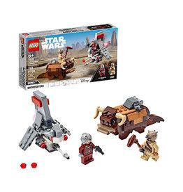Lego Star Wars Skyhopper vs Bantha Microfighters