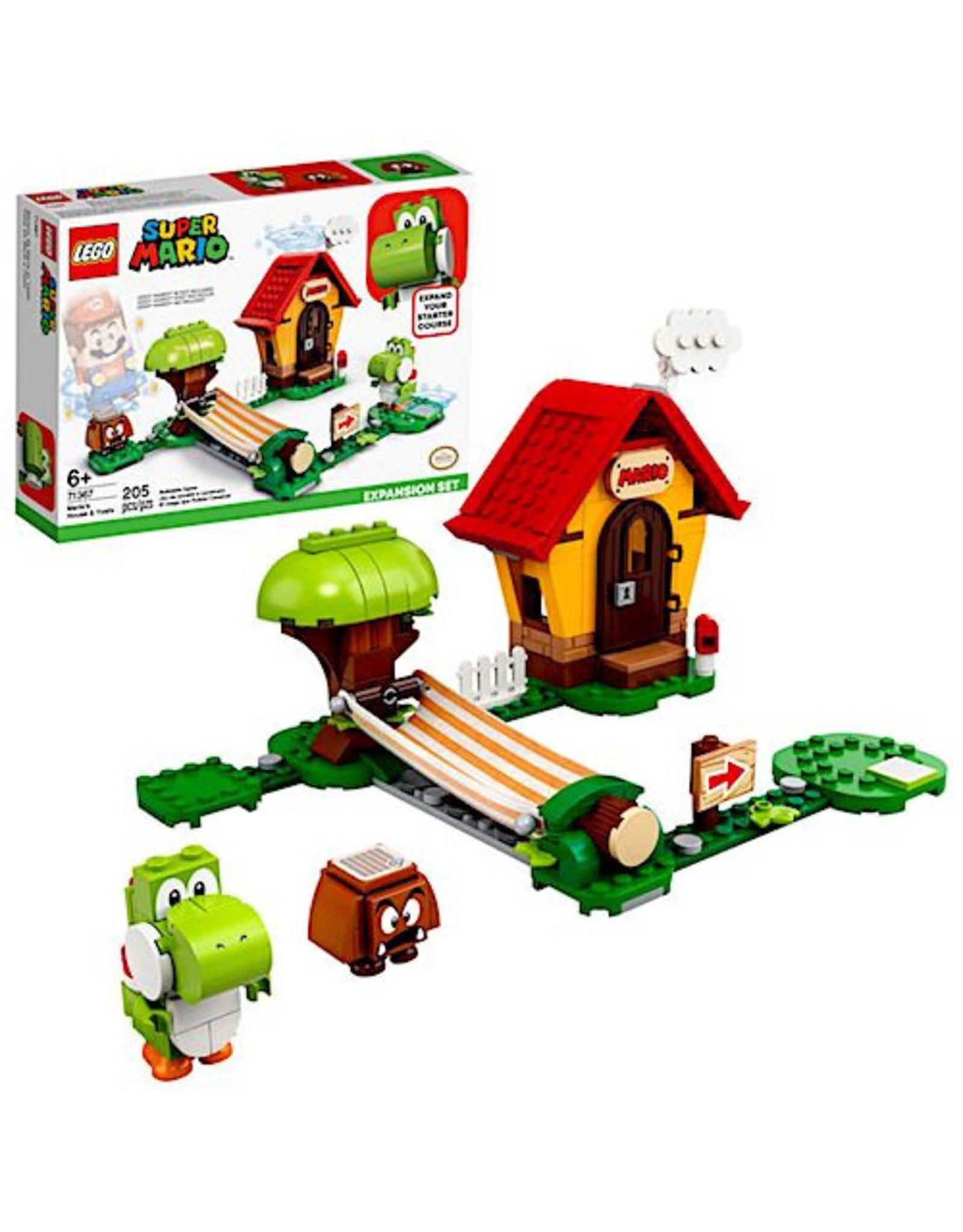 Lego Mario's House and Yoshi Expansion Set