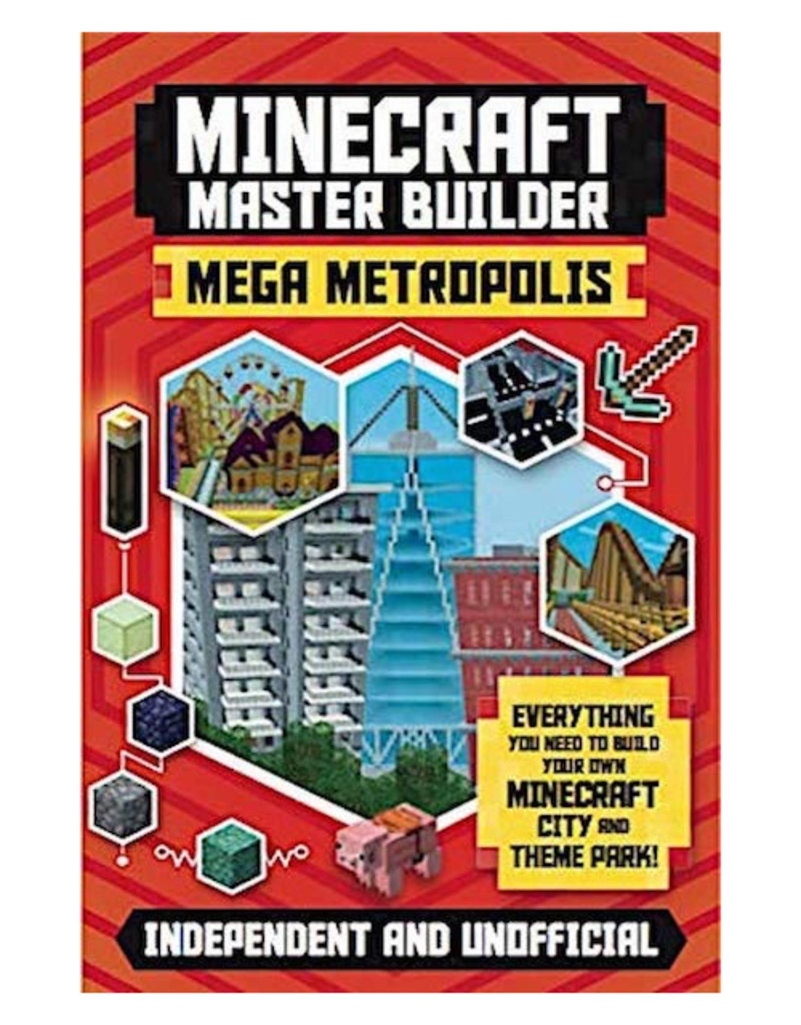 Ingram Publisher Minecraft Master Builder Mega Metropolis